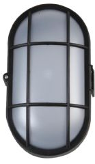 PRO ELEC PEL01338  Led Bulkhead Light, Black